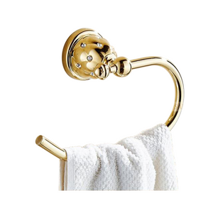 Gold European Towel Hanger - Hansel & Gretel Home Decor