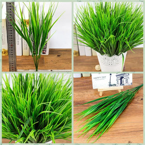Green Artificial Grass Plant - Hansel & Gretel Home Decor