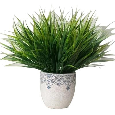 Green Artificial Grass Plant