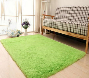 Green Living Room Carpet - Hansel & Gretel Home Decor