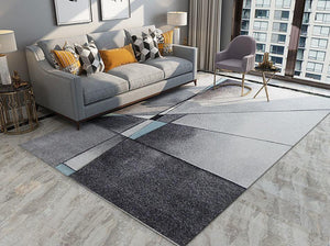 Grey Dining Area Carpet - Hansel & Gretel Home Decor