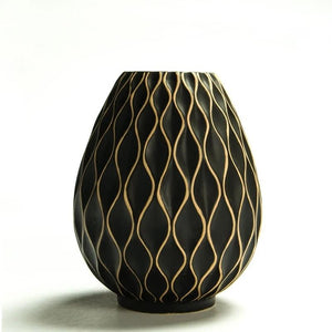 Honeycomb Ceramic and Porcelain Vase - Hansel & Gretel Home Decor