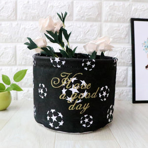 Japanese Black Laundry Bag - Hansel & Gretel Home Decor