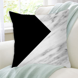 Luxurious Black and White Decorative Pillow Case - Hansel & Gretel Home Decor