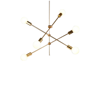 Long Pole European Style Hanging Lamp-Hansel & Gretel Home Decor