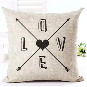 Lovely Black and Brown Decorative Pillow Case - Hansel & Gretel Home Decor