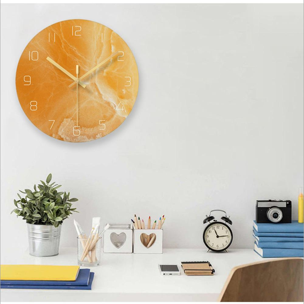 Marble Nordic Wall Clock Karen Model - Hansel & Gretel Home Decor