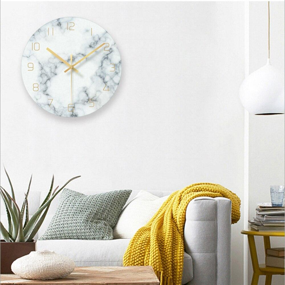Marble Nordic Wall Clock Karen Model-Hansel & Gretel Home Decor