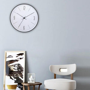 Minimally Styled Wall Clock Sharon Model - Hansel & Gretel Home Decor