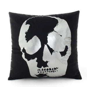 Modern Black and Silver Decorative Pillow Case - Hansel & Gretel Home Decor