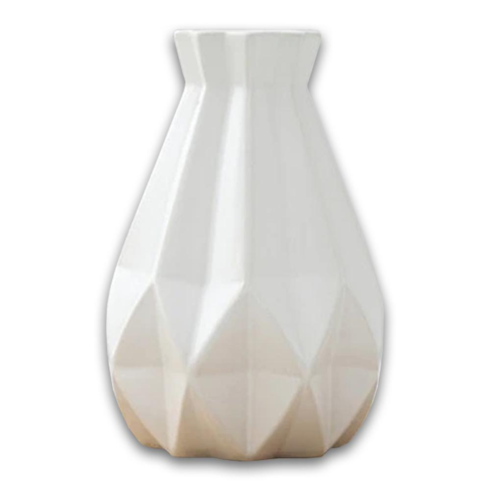 Modern Diamond Porcelain Vase - Hansel & Gretel Home Decor
