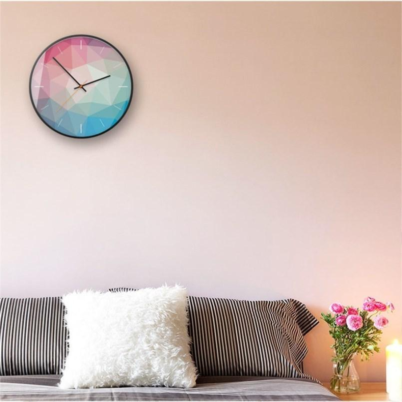 Modern Silent Wall Clock Helen Model - Hansel & Gretel Home Decor