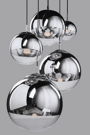 New York Hanging Sphere Lamp - Hansel & Gretel Home Decor