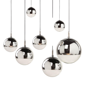 New York Hanging Sphere Lamp-Hansel & Gretel Home Decor
