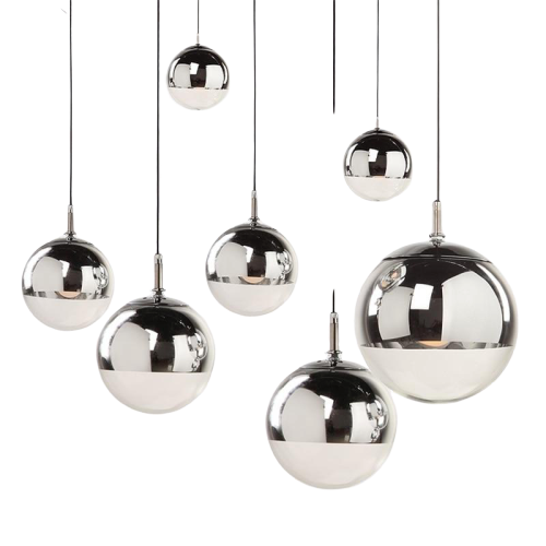 New York Hanging Sphere Lamp
