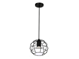New York Iron Hanging Lamp - Hansel & Gretel Home Decor