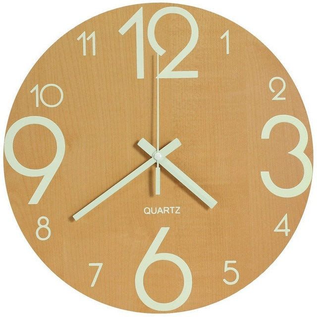 Vintage Wooden Wall Clock Taylor Model