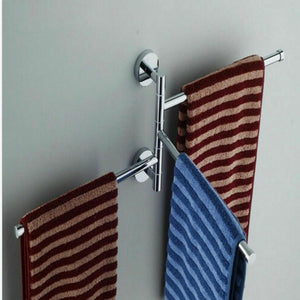 Stainless Steel Swing Arm Towel Holder - Hansel & Gretel Home Decor