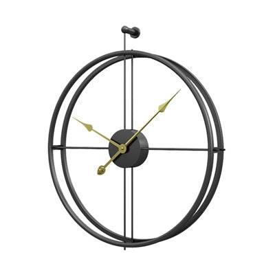 Modern Large Silent Wall Clock Alicia Model