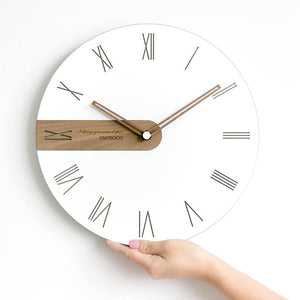 Digital Wooden Wall Clock Susan Model