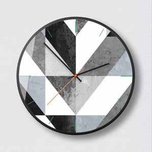 Modern Minimalist Wall Clock Ciara Model - Hansel & Gretel Home Decor