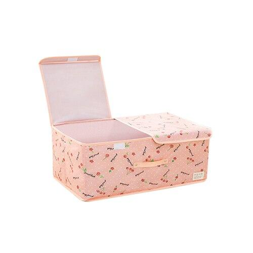Rectangular Peach Storage Basket