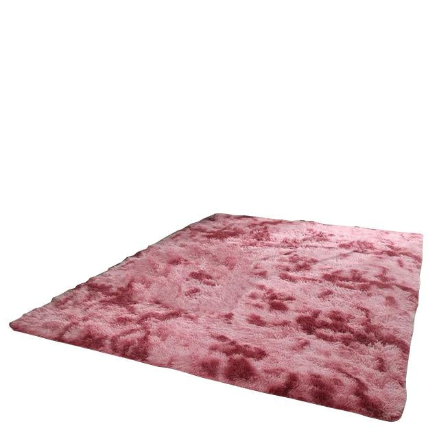 Red Dining Area Rug