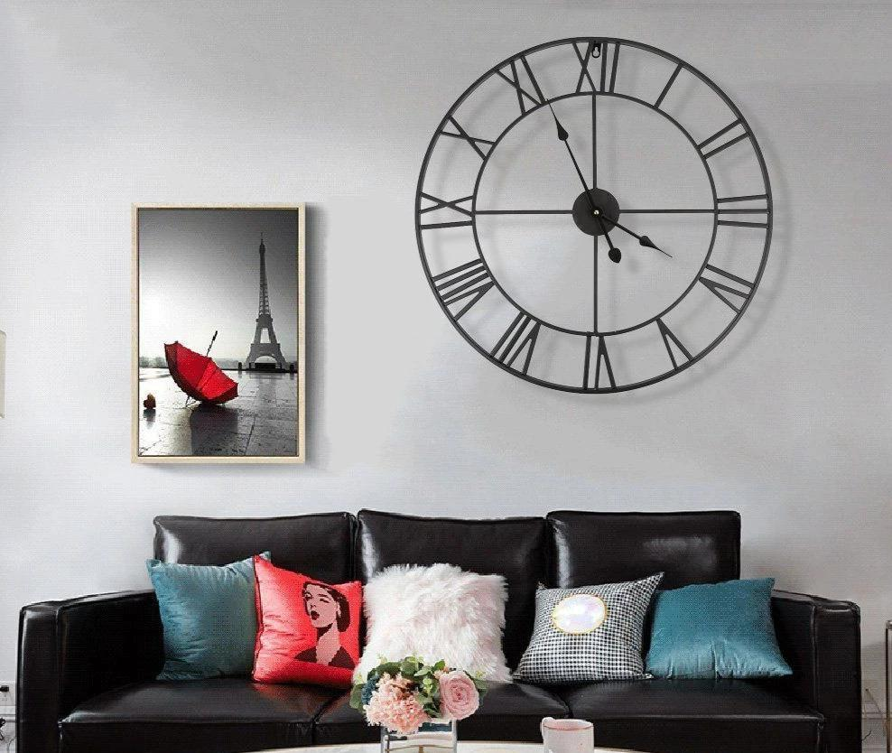 Roman Numeral Wall Clock Sandra Model - Hansel & Gretel Home Decor