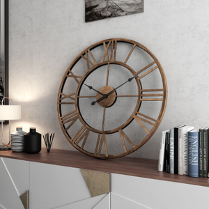 Roman Style Wall Clock Laura Model - Hansel & Gretel Home Decor