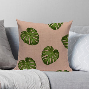 Nordic Shades of Pink and Green Decorative Pillow Case - Hansel & Gretel Home Decor