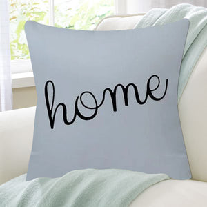 Luxurious Black and Blue Decorative Pillow Case - Hansel & Gretel Home Decor