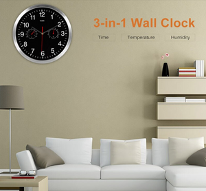 Silent Timelike Wall Clock Lisa Model - Hansel & Gretel Home Decor
