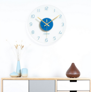 Simple Quartz Wall Clock Rebecca Model - Hansel & Gretel Home Decor