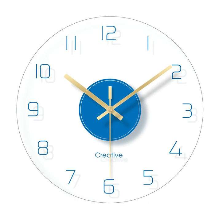 Simple Quartz Wall Clock Rebecca Model