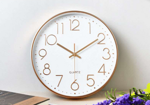 Stylish Vintage Wall Clock Virginia Model - Hansel & Gretel Home Decor