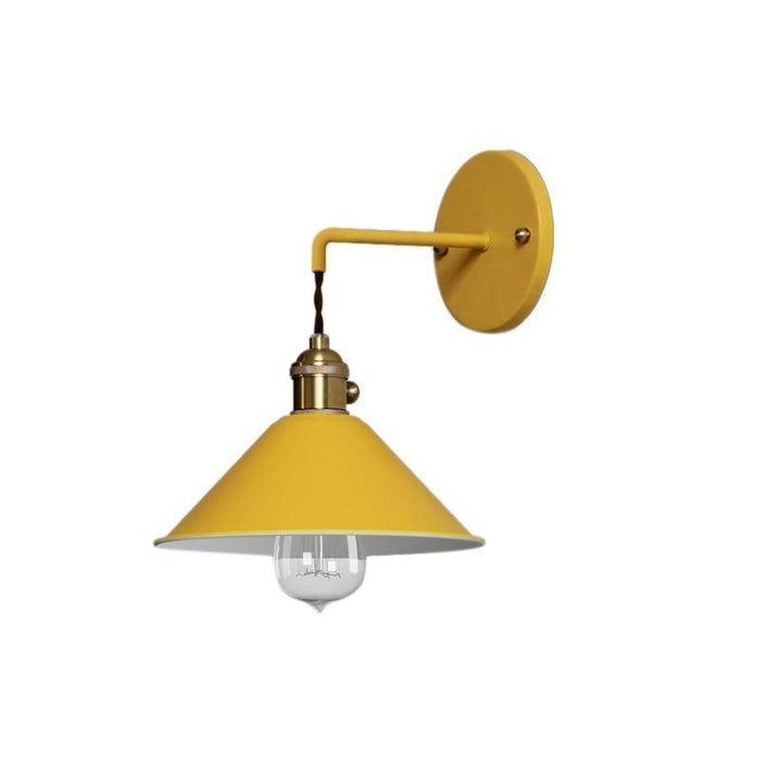 Trondheim Yellow Wall Light