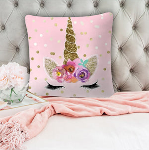Fabulous Pink Decorative Pillow Covers - Hansel & Gretel Home Decor
