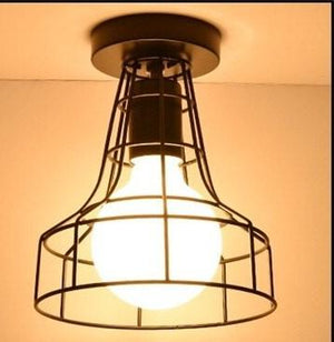 Vintage American Ceiling Light - Hansel & Gretel Home Decor