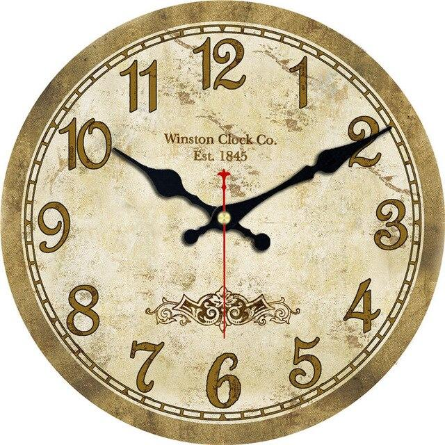 Vintage Wooden Wall Clock Kathleen Model