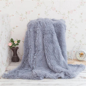 Waterproof Polyester Gray Throw - Hansel & Gretel Home Decor
