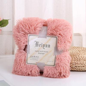 Waterproof Polyester Pink Throw - Hansel & Gretel Home Decor