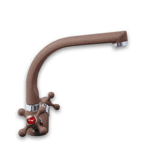 Zinc Alloy Dark Brown Kitchen Faucet Rotating - Hansel & Gretel Home Decor