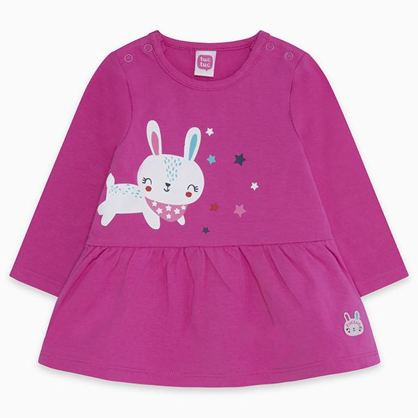 CHIC BUNNY JERSEY DRESS
