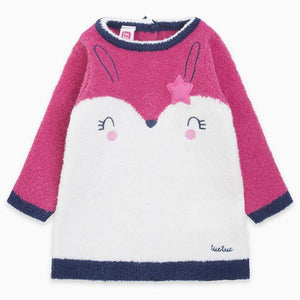 CHIC BUNNY KNITTED DRESS