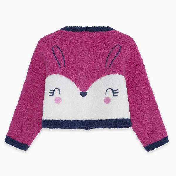 CHIC BUNNY KNITTED JACKET