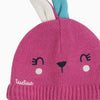 CHIC BUNNY KNITTED HAT