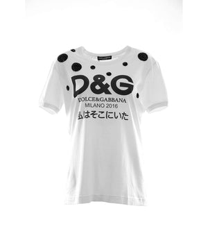 D&G レディース ロゴTシャツ「I WAS THERE」