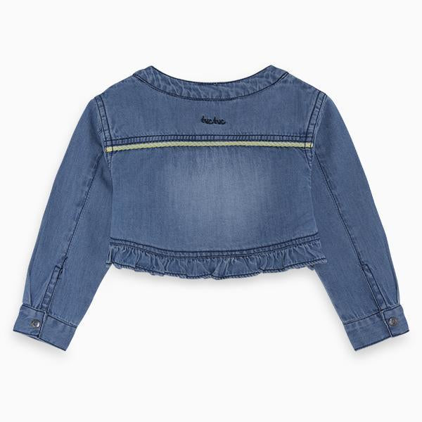 HEALTHY LIFE DENIM JACKET