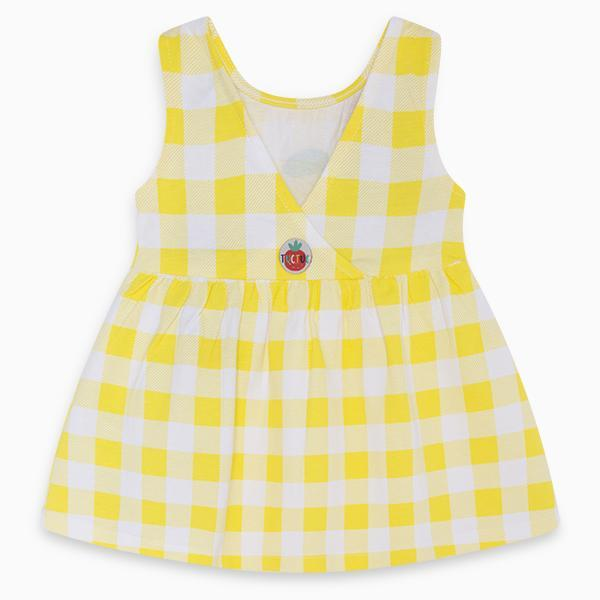 HEALTHY LIFE YELLOW JERSEY DRESS