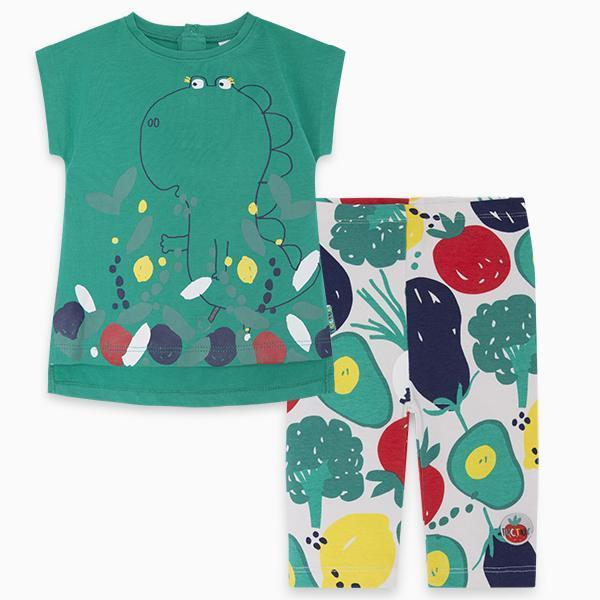 HEALTHY LIFE T-SHIRT AND CARPI LEGGINGS